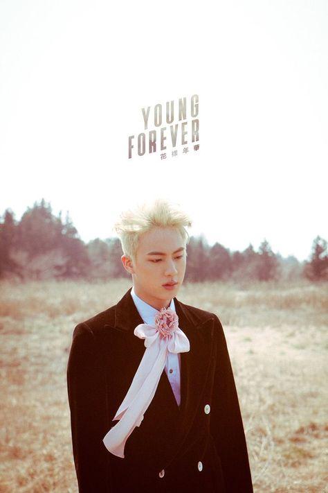 Jin ❤ YoungForever photo shoot #방탄소년단 #BTS