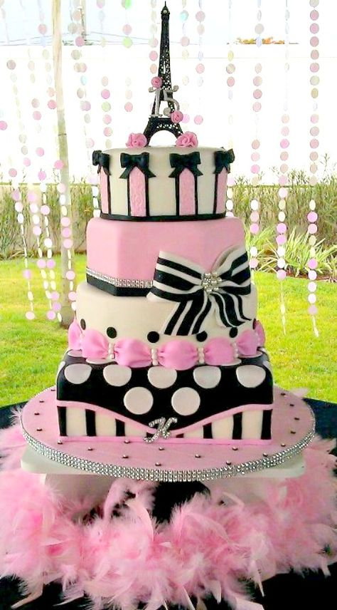 Paris Themed Cake www.babybuydirect.com.au