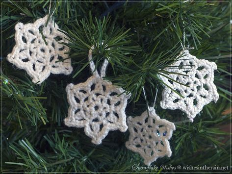 Free Pattern: Snowflake Wishes 3 | wishes in the rain