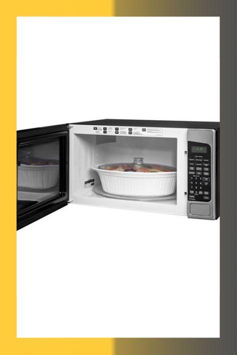 Countertop Microwave Ovens Stainless Steel Countertop Microwave GE ...