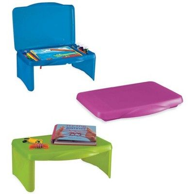 Magic Cabin Folding Lap Desk With Storage For Kids Great For Traveling Pink Lap Desk With Storage Lap Desk For Kids Lap Desk
