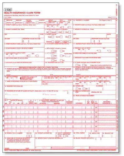 Claim Form In Medical Billing This Is Why Claim Form In Medical Billing Is So Famous Medical Billing Fillable Forms Health
