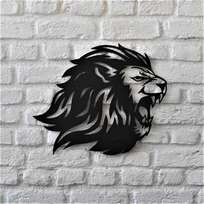 Roar Lion Tablolar Soyut Cizimler Ve Gorsel Sanatlar