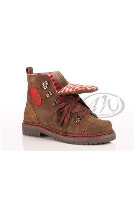 Alpenwahnsinn verrückt nach Tracht   Shoes   Damen boots