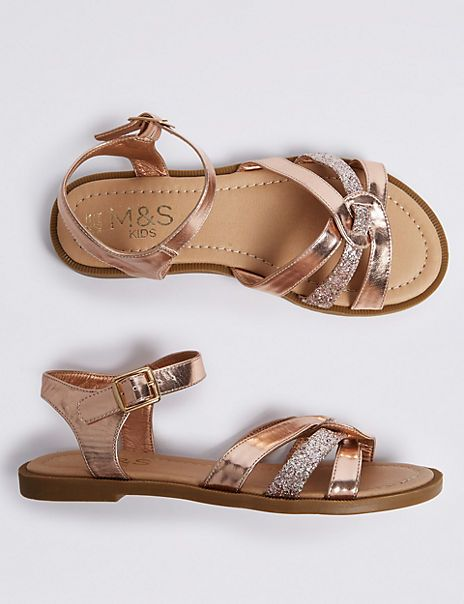 Sparkle sandals, Kid shoes