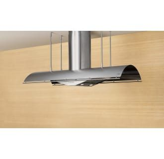 Zephyr Ctp E48bsx Stainless Steel 48 Inch Wide Island Range Hood Less Blower From The Trapeze Series Island Range Hood Range Hood Dimmable Led Lights