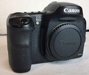 Canon Eos 10d 6 3mp Digital Slr Camera Black Body Only Japan Ds6031 Ebay Digital Slr Camera Canon Eos Eos