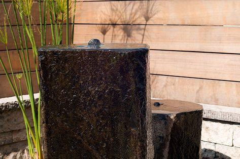 BASALT FOUNTAIN POLISHED TOP U2013 Garden And Landscaping Supplies San Carlos,  CA