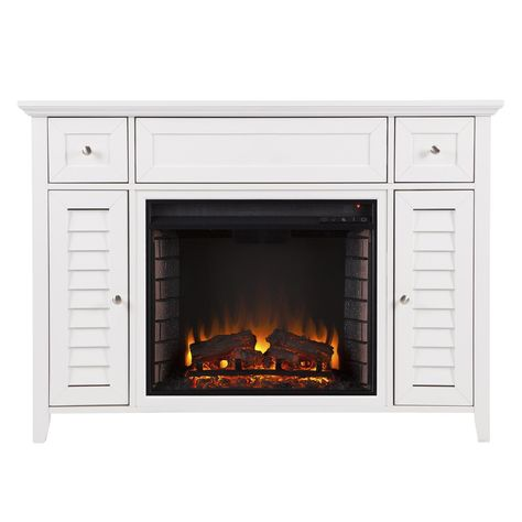 Southern Enterprises Fairbury 48 Electric Fireplace Media Console