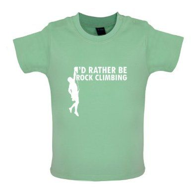 I/'d Rather Be Rock Climbing Kids T-Shirt