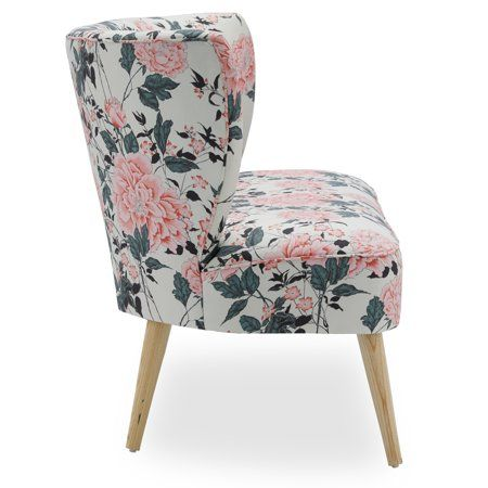 Home Floral Print Chair Love Seat Floral Bedroom