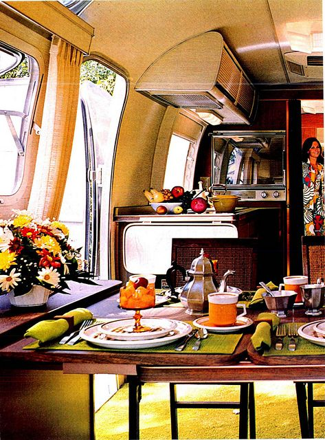 Vintage 1970s Airstream Photos by Fifilynn, via Flickr