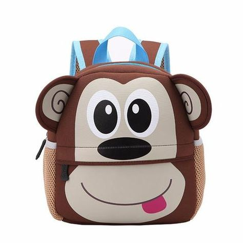 9516de91bbfa 2018 Children 3D Cute Cartoon Animal Waterproof Schoolbag Kindergarten Kids  School Bag for Girls Boys Dog Shaped School Backpack