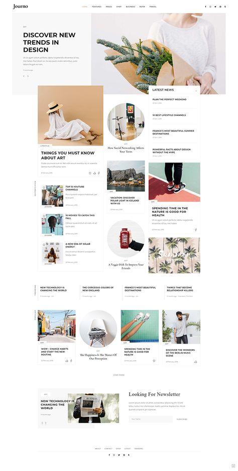 Journo WordPress Theme - Ingrid Home