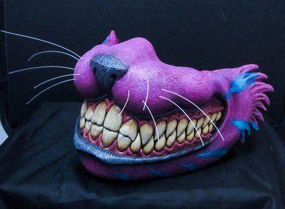 Cheshire Cat Mempo W Glow In The Dark Teeth Dark Zealot Studios Online Store Powered By Storenvy Cheshire Cat Art Cheshire Cat Cosplay Cat Cosplay