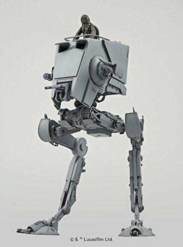 BANDAI Japan Star Wars AT-ST Imperial All Terrain Scout Transport Walker 1//48