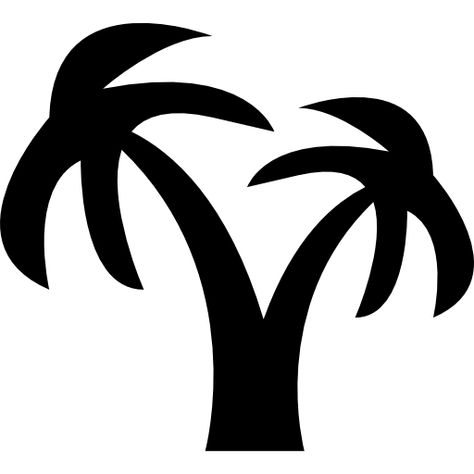 Download Coconut Tree For Free Tree Icon Cool Silhouette Art Coconut Tree Vector