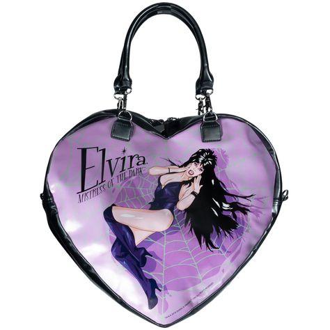 1b23ba4ea56c Elvira Black Heart Web Purse Bag in 2019 | I NEED THIS: Purses/Bags ...