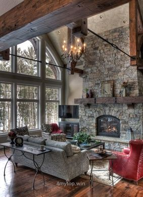 Rustic living rooms can definitely bring about a certain sense of coziness to your home. This is why