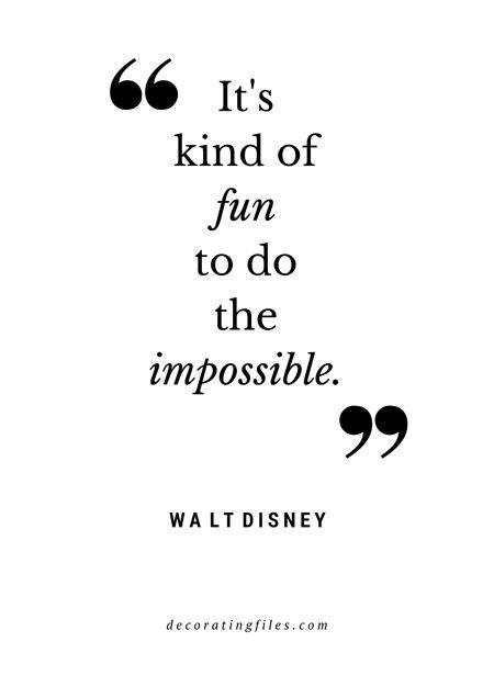 Walt Disney Quote fun What Did U Say
