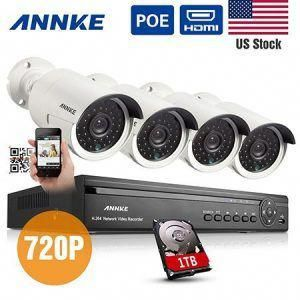 2 Annke 4ch 720p Hd Poe Nvr Security Camera System Homesecuritysystemreviews Wireless Home Security Systems Home Security Systems Wireless Home Security