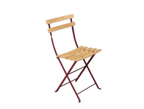 Chaise Naturel Bistro Chaise En Metal Et Bois Chaise Fauteuil Mobilier Jardin Et Chaise