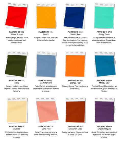 Color Trends 2019-2020 Color Forecast ...