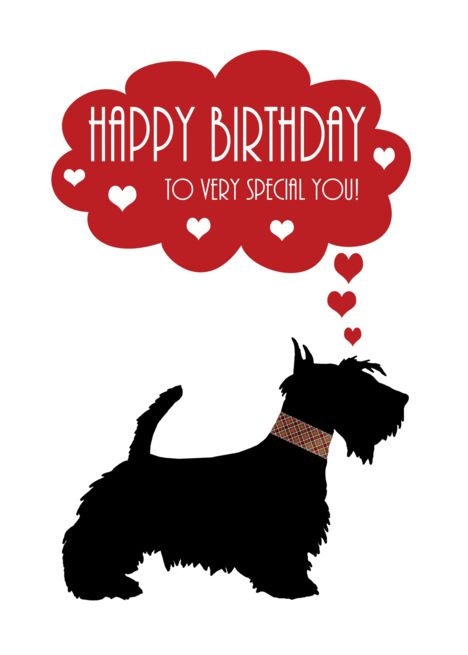 Very Special You With Scottish Terrier Scottie Dog Card Ad Sponsored Terrier Scottish Sp Happy Birthday Sister Sister Birthday Card Sister Birthday