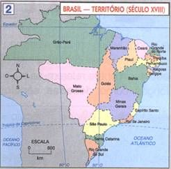 Formacao Do Territorio Brasileiro So Historia Com Imagens