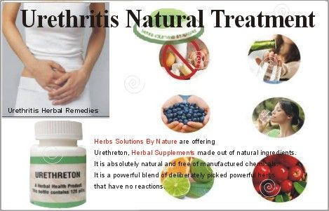 natural home remedies for urethritis