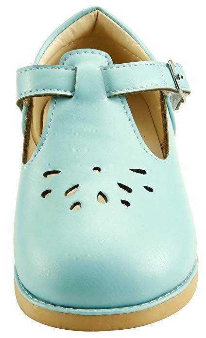 The Doll Maker Girls Mary Jane Flat for Toddler//Little Kid School Dress Shoes
