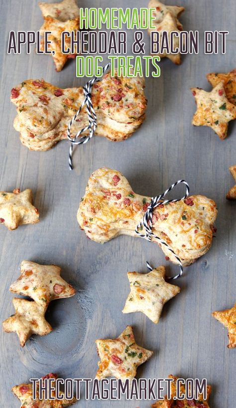 Homemade Dog Treats for National Dog Biscuit Day - The Cottage Market