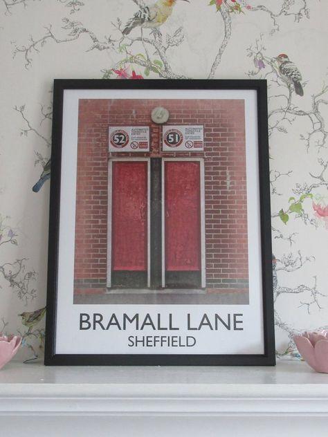 Sheffield United Turnstile Art Print