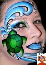 25 Best Oceanic Face Paint Images