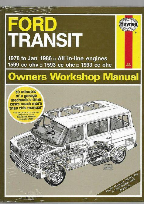Haynes New Sealed Rare Ford Transit Mk2 1978 1986 Owners Workshop