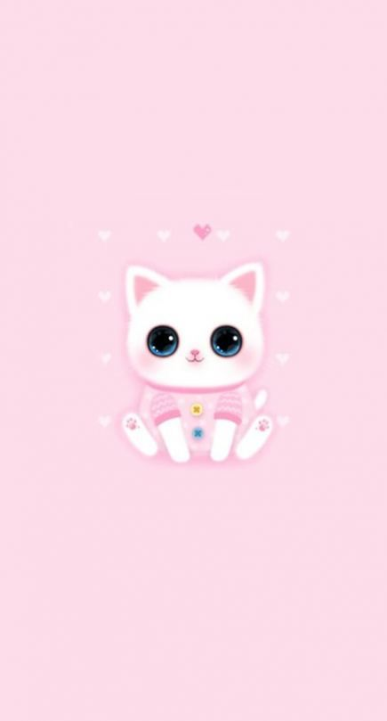 New Cats Background Wallpapers Cute Ideas Cute Wallpapers Cute Cat Wallpaper Kawaii Wallpaper