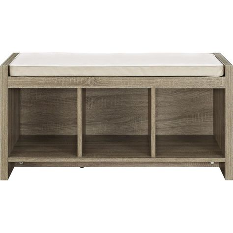 Peachy Loring Storage Bench Vintage Oak Project 62 Pabps2019 Chair Design Images Pabps2019Com