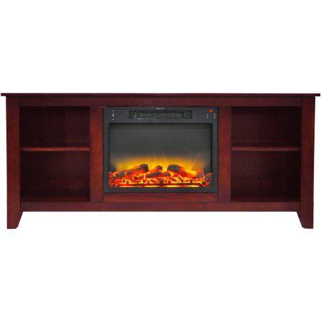 Cambridge Santa Monica Electric Fireplace Heater With 63