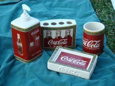 Coca Cola Bathroom Decor.Pinterest