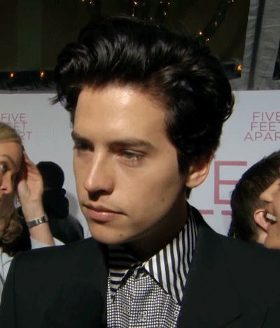 Cole Sprouse Gif