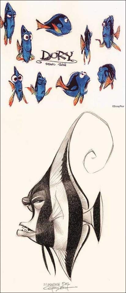 Best Pixar Concept Art Character Design References Animation Ideas