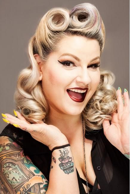 Whats old is new again v is for victory rolls by manderyo v is for victory rolls by manderyo hotonbeauty vintage hairstyle blonde hair color hairstyles pinterest victory rolls vin urmus Gallery