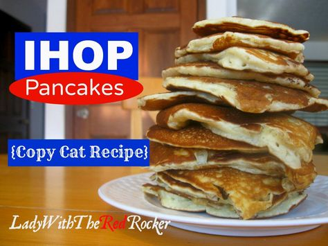 Copy Cat IHOP Pancakes! #NationalPancakeDayatIHOP