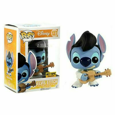 Funko Pop Elvis Stitch Disney Hot Topic Exclusive