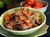 we love this beef stew. I do add some extra water as well as potatoes when I add the carrots and celery.