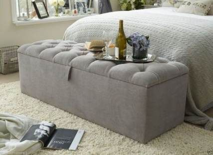 58 Ideas End Of Bed Storage Ottoman Blankets Storage Storage