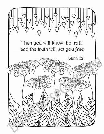 840 Top Bible Verse Coloring Pages Easy For Free
