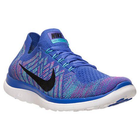 0c40ab75668 ... FEMININO - SHOPMASP Women s Nike Free 4.0 Flyknit Running Shoes -  717076 501 Finish Line Womens Nike Free Run ...