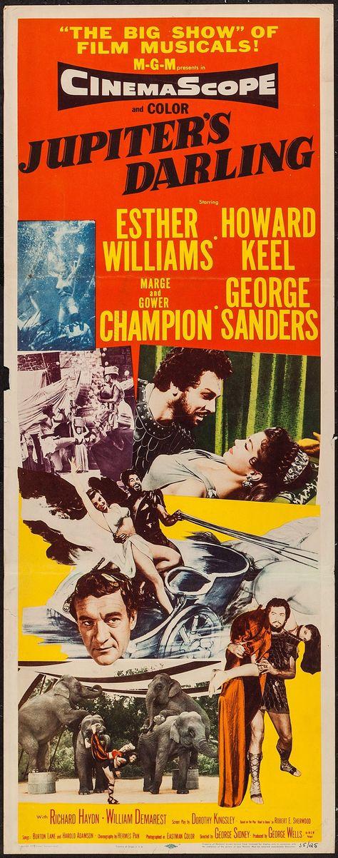 Jupiter's Darling (1955) Stars: Esther Williams, Howard Keel, Marge Champion,  Gower Champion, George Sanders, Richar ...