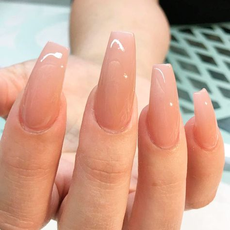 Shades for Nude Color Nails ★ See more: https://naildesignsjournal.com/nude-color-nails-shades/ #nails